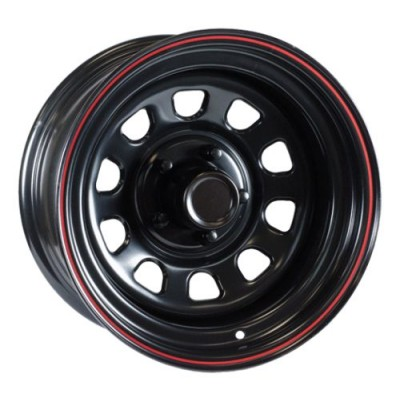 Ceco Daytona Black wheel (15X10, 5x114.3, 83.8, -38 offset)