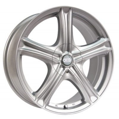 Ceco Series 245 Machine Silver wheel (17X7, 5x105/110, 73.1, 40 offset)