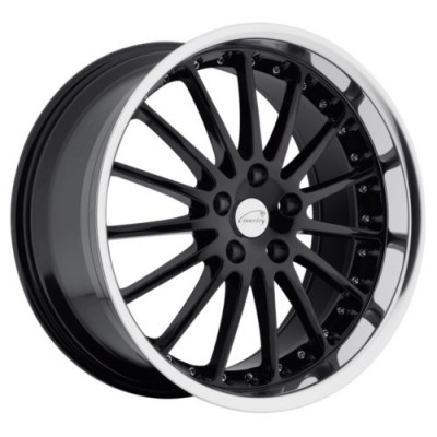 Coventry Wheels WHITLEY Gloss Black Diamond Cut wheel (18X8.5, 5x108, 63.4, 42 offset)