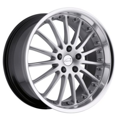 Coventry Wheels WHITLEY Hyper Silver wheel (17X8, 5x120.65, 73.9, 25 offset)