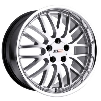 Cray Wheels MANTA Hyper Silver wheel (17X9, 5x120.65, 70.3, 50 offset)