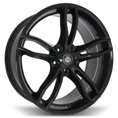 Curva C17 Gloss Black wheel (20X8.5, 5x114.3, 73.1, 35 offset)