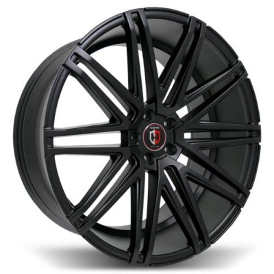 Curva C48 Gloss Black wheel (20X9.0, 5x114.3, 73.1, 35 offset)