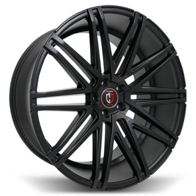 Curva C48 Satin Black wheel (20X9.0, 5x120, 72.56, 35 offset)