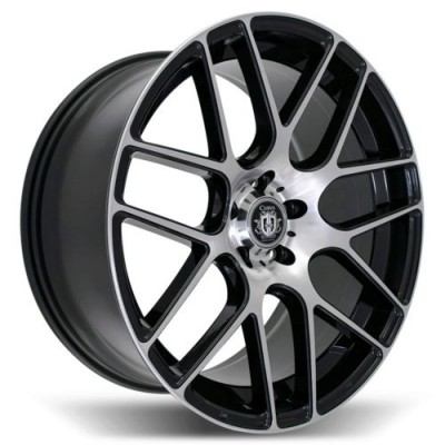 Curva C7 Machine Black wheel (18X8.0, 5x112, 66.56, 35 offset)