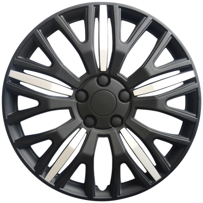 "Wheel Covers 15"" (set of 4) - Black - D104015BK"