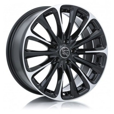 RTX Wheels Poison Machine Black wheel | 16X7, 5x108, 63.4, 38 offset