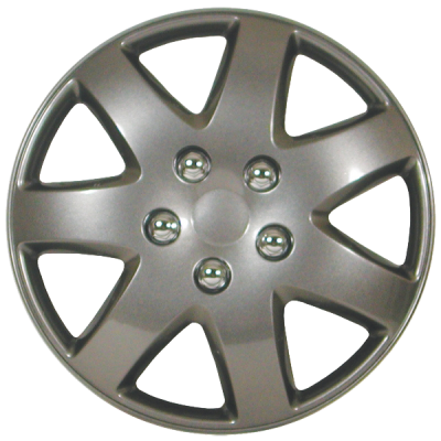 "Wheel Covers 15"" (set of 4) - Silver - D96215CS"