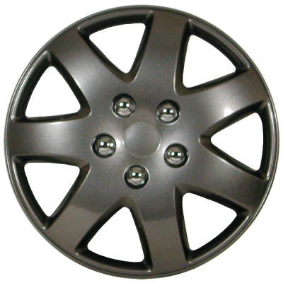 "Wheel Covers 15"" (set of 4) - Graphite - D96215PBK"