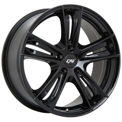 Dai Alloys Razor Gloss Black wheel (18X8, 5x127, 71.5, 35 offset)