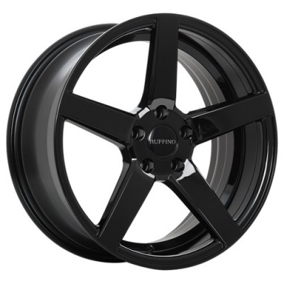 Ruffino Wheels Boss Gloss Black wheel (18X8, 5x114.3, 73.1, 42 offset)