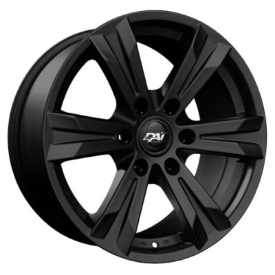 Dai Alloys Concept 6 Gloss Black wheel (18X8.5, 6x132, 74.5, 40 offset)