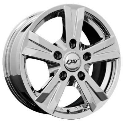 Dai Alloys Concept 5 Chrome wheel (16X6.5, 5x127, 71.5, 35 offset)