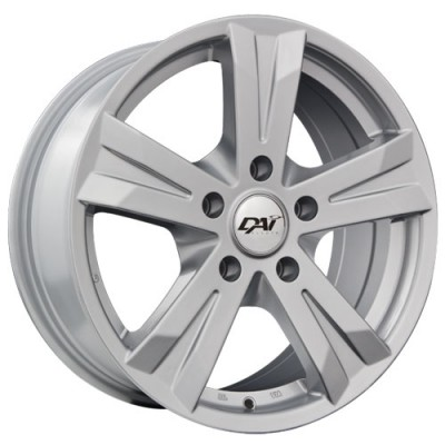 Dai Alloys Concept 5 Silver wheel (16X6.5, 5x127, 73.1, 35 offset)