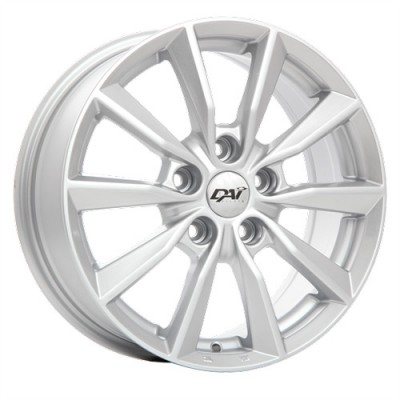Dai Alloys Delta Silver wheel (16X6.5, 5x114.3, 66.1, 45 offset)