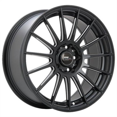 720 Form GTF3 Machine Black wheel (17X7.5, 5x114.3, 73.1, 42 offset)