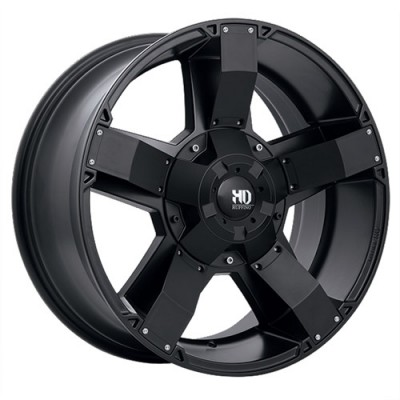 Ruffino Wheels Helix Satin Black wheel (17X9, 8x165.1, 125.2, 12 offset)