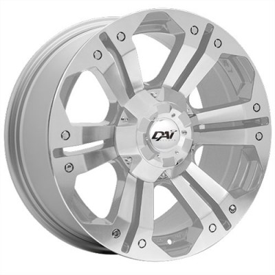 Dai Alloys Nomad Silver wheel (18X8.5, 6x135/139.7, 87.1, 20 offset)