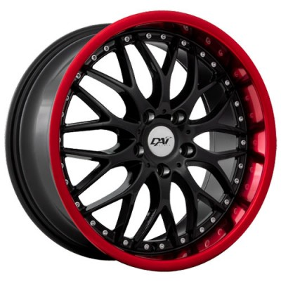 Dai Alloys Passion Gloss Black wheel (18X8, 5x114.3, 73.1, 45 offset)