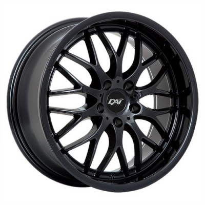 Dai Alloys Passion Gloss Black wheel (17X7.5, 5x114.3, 73.1, 45 offset)