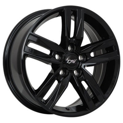 Dai Alloys Prime Gloss Black/Noir lustré, 18X8.0, 5x127 ,(déport/offset35 )71.5