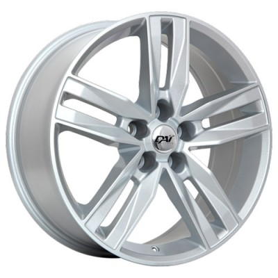 Dai Alloys Prime Metallic Silver/Argent métallique, 18X8.0, 5x127 ,(déport/offset35 )71.5