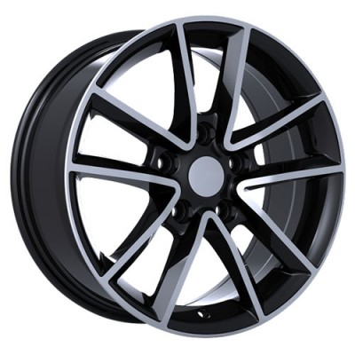 Art Replica Wheels Replica 48 Gloss Black Machine wheel (17X7.5, 5x127, 71.5, 35 offset)