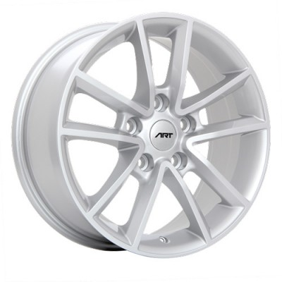 Art Replica Wheels Replica 48 Silver/Argent, 17X7.5, 5x127 ,(déport/offset35 )71.5 Dodge/Chrysler
