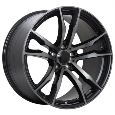 Art Replica Wheels R64 Machine Black wheel (20X11, 5x120, 74.1, 37 offset)