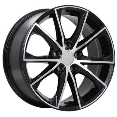 Art Replica Wheels R70 Gloss Black Machine wheel (17X7.5, 5x114.3, 60.1, 40 offset)