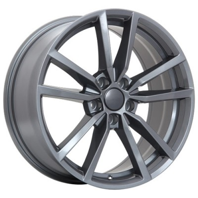 Art Replica Wheels R75 Gun Metal wheel (18X8, 5x112, 57.1, 45 offset)