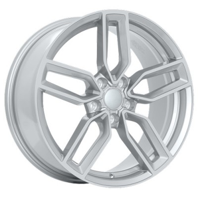 Art Replica Wheels Replica 91 Metallic Silver/Argent métallique, 20X8.5, 5x112 ,(déport/offset33 )66.5