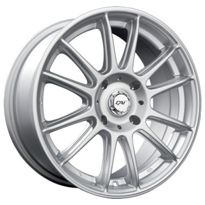 Dai Alloys Radial Silver/Argent, 14X6.0, 4x100 ,(déport/offset42 )73.1