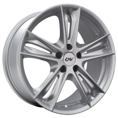 Dai Alloys Razor, Argent/Silver, 18X8.0, 5x114.3 (offset/deport 35), 73.1