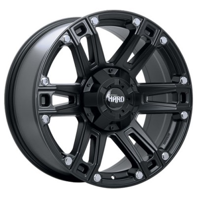 Ruffino Wheels Renegade II Satin Black wheel (17X9, 5x139.7, 77.8, 20 offset)