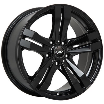Dai Alloys Target Gloss Black wheel (15X6.5, 4x100, 54.1, 38 offset)