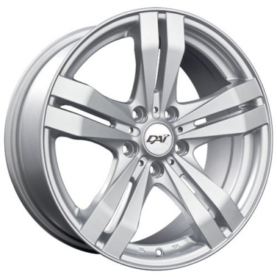 Dai Alloys Target Silver wheel (14X6, 4x100, 73.1, 38 offset)