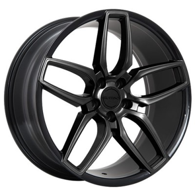 Ruffino Wheels Trofeo Gloss Black wheel (20X9, 5x114.3, 73.1, 40 offset)