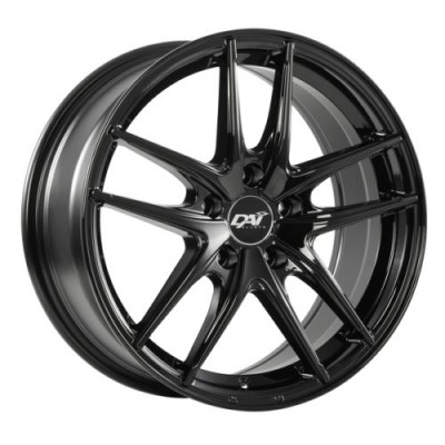 DAI Alloys Apex Gloss Black wheel (15X6.5, 5x114.3, 64.1, 42 offset)