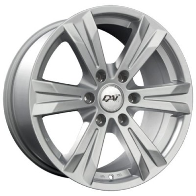 DAI Alloys Concept 6 Silver wheel (18X8.5, 6x132, 78.1, 40 offset)