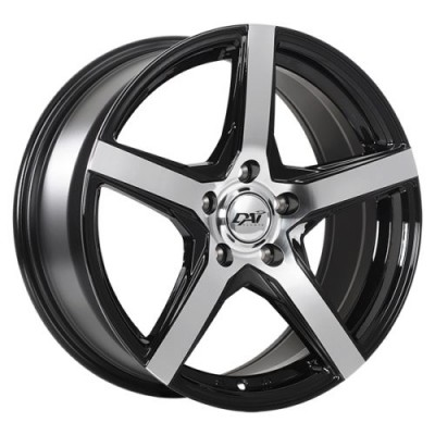 Dai Alloys Cor Gloss Black Machine wheel (16X7.0, 5x114.3, 67.1, 40 offset)