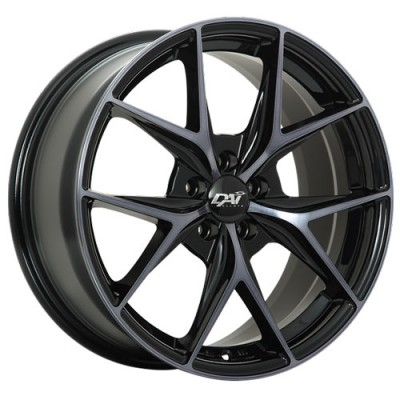 Dai Alloys Elegante Gloss Black Diamond Cut wheel | 17X7.5, 5x108, 63.4, 40 offset