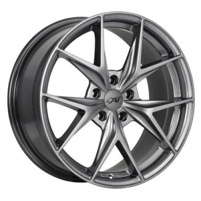 DAI Alloys Elegante Hyper Silver Dark wheel (17X7.5, 5x114.3, 73.1, 40 offset)