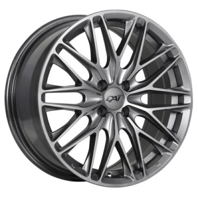 DAI Alloys Kraze Hyper Silver Dark wheel (16X7.0, 5x114.3, 67.1, 40 offset)