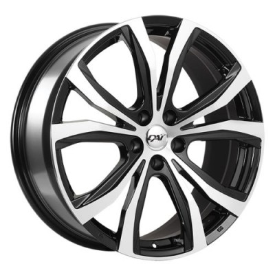 Dai Alloys Kure Gloss Black Machine wheel (18X8.0, 5x114.3, 73.1, 42 offset)
