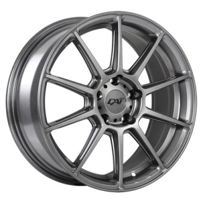 Dai Alloys Pilot Gun Metal wheel (14X6.0, 4x100, 73.1, 38 offset)