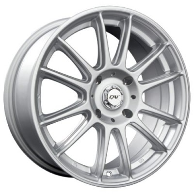 DAI Alloys Radial Silver wheel | 15X6.5, 5x100, 73.1, 38 offset