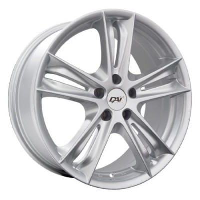 Dai Alloys Razor Silver wheel (18X8.0, 5x127, 71.5, 35 offset)