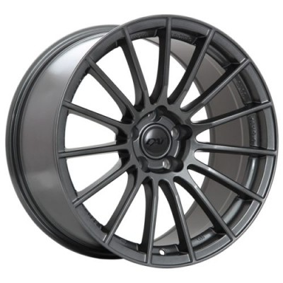 Dai Alloys Renn Graphite wheel (18X8.0, 5x112, 66.5, 21 offset)