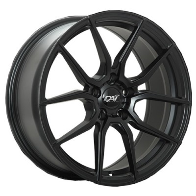 Dai Alloys Riot Satin Black wheel (18X8, 5x114.3, 73.1, 40 offset)